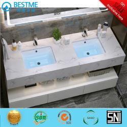 Basin in pietra artificiale personalizzato con Smart LED Mirror by-X8005