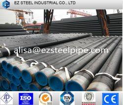 St 37, ST 52, S235, X42, X46, X52, X56, X60, X65, X70 tuyau en acier au carbone