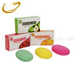 최신 판매 70g 상자 색깔 과일 향수 목욕 비누