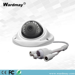 CCTV H. 265 3.0MP CCTV 엘리베이터 사용을%s 영상 감시 IR 돔 IP HD 사진기