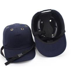 범프 캡 작업 안전 헬멧 베이스볼 모자 스타일 보호 안전 하드 햇 Work Wear Security Head Protection 측면 4홀