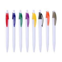 Regalo promocional Venta caliente Bolígrafo con Clip de Color
