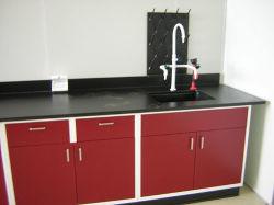 실험실용 가구, 가장자리 벤치, 균형표, 중앙 벤치, 벽 캐비닛 및 시약 캐비닛