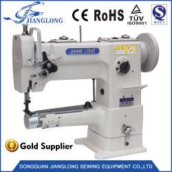 246 Lockstitch cama do calçado de lubrificação automática a máquina de costura industrial máquina de costura industrial agulha única