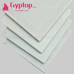 Belüftung-Gips-Decken-Fliese-/Gips-Decken-Vorstand/Gips-Ceiling/PVC lamellierter Gips-Decken-Fliese-/Gips-Vorstand