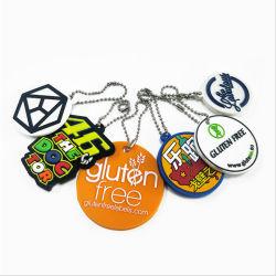 Kundenspezifisches Silikon Belüftung-Schlüsselkette für Förderung-Geschenke und Dekoration