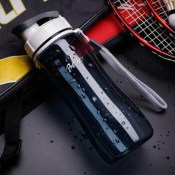 卸し売りカスタム昇進のスポーツのロゴのプラスチック飲料水のびん