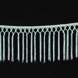 Chainette 15cm nouée Fringe Costume garniture à coudre