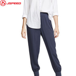 Женщин ребра сшивания скобками манжеты ослабление лодыжки брюки длины