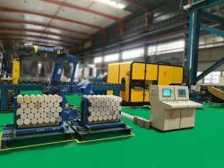 Máquina de corte dos toletes de alumínio automática com o Robô