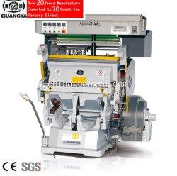 Tymc-203 Manual en caliente de estampado de lámina de papel, PVC, etc. la máquina