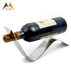 Специализированные оптовые искусства вино формы листьев из нержавеющей стали для установки в стойку