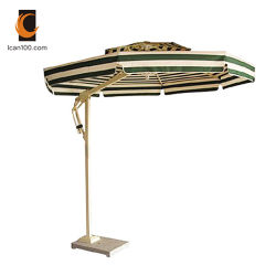 Paraplu Van uitstekende kwaliteit van de Zon van de Parasol van de Cantilever van het Strand van de Tuin van de kras de Bestand Openlucht