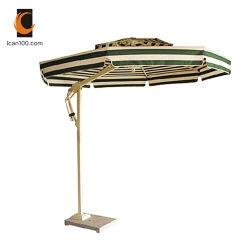 De alta calidad resistente a arañazos Jardín al aire libre Playa Sol Cantilever Parasol paraguas en casa