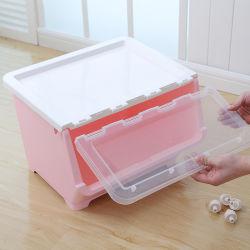 Хранения данные органайзера Strackable пластиковые лотки для хранения продуктов корзины для дома с одной спальней и ванной комнатой на кухне отделение полки