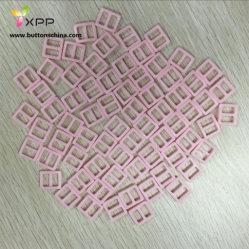 小型Dyeableのプラスチックバックルのピンク