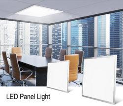 600x600мм Ультратонкий потолочный Troffer плоскую поверхность рамы установлены светодиодные лампы панели