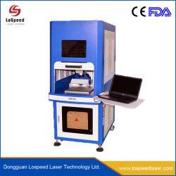 Tampa de segurança Mini completo Preço máquina de marcação a laser de fibra Fechada 20W Raycus Mopa laser a cores de fibra