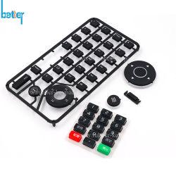 P+R conductrice Pavé numérique et de cache du bouton en plastique bouton numérique