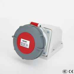 Непосредственно на заводе продавать 3-контакты 16A 32A 63A 220V-250V 380-415V водонепроницаемый электрической мощности промышленных поверхности стены разъем
