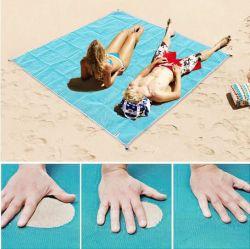 Estate calda di vendita pieghevole nessun stuoie enormi della spiaggia della sabbia