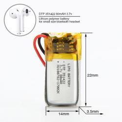 صغيرة [ليبو] بطارية مع [80مه] قدرة في الدّرجة الأولى يستعمل لأنّ [3ك] منتوجات