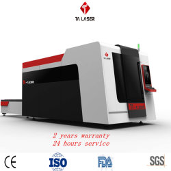 CNC 500W-8000W Laser-Scherblock-schwere Faser-Laser-Ausschnitt-Maschine/CO2 Laser-Ausschnitt oder Gravierfräsmaschine für Blatt-Rohr-Metalkohlenstoff-Edelstahl-Ausschnitt-Maschine