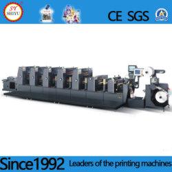 Exercício automática de endereços, Máquina de molinete com a pilha com impressão Flexo, Cola de volta vinculativo, Impressão Digital, Impressão offset plana, Impressora de Cama