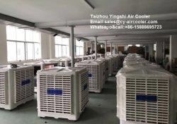 1.1Kw Desert Air de suralimentation, ventilateur de refroidissement par évaporation, 18000CMH