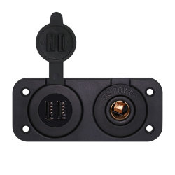 12/24V de dubbele AutoLader van de Auto van de Haven USB