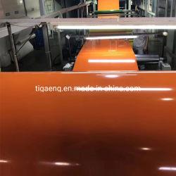 Estoque de fábrica Persianas Bobina de alumínio revestido de cor de escovagem
