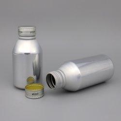 Vazio de bebidas de alumínio pode Garrafa com tampa roscada para Beer