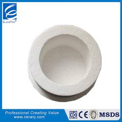 El circonio Contanined forma al vacío de fibra cerámica