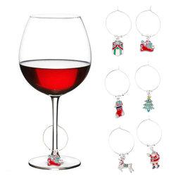 De Juwelen van het Glas van de Wijn van de Decoratie van de Tegenhanger van de Manier van de Gift van Kerstmis