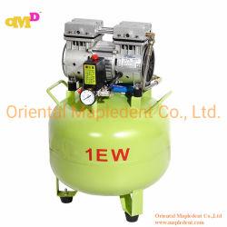 545 vatios Dental Oil-Free compresor de aire con motor de la GSE para clínicas dentales