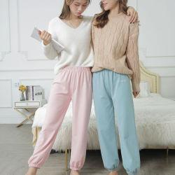 Venta caliente largo negro señoras buena Quatity Skinny Pantalones Ropa de moda mujer invierno pantalones