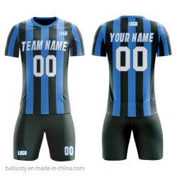 OEM Hot Sale Sport Maillot de soccer en polyester respirant uniforme