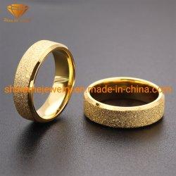 316L IPの金無光沢の上ボディ宝石類のチタニウムの宝石類のステンレス鋼の宝石類指リングSSR1943