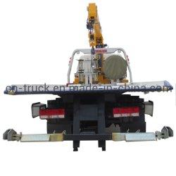 El deber de la luz de Dongfeng 5T, vehículo de remolque con grúa carretilla Resuce 4T.
