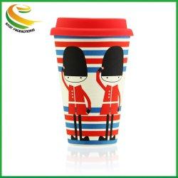 Fibre de bambou Leak-Proof matériau naturel la tasse de café Mugs tasses en polystyrène de carbone de bambou