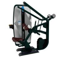 Macchina di ginnastica caricata Pin/strumentazione professionale Tz-9008 di forma fisica di Pulldown del Lat