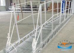 배 배 계류기구 밧줄 알루미늄 또는 스테인리스 소형 보트를 위한 바다 휴대용 선창 Boarding 사다리