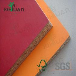 Alta qualidade de PVC de melamina laminado de borda de placa de partículas para portas do armário/mobiliário com preço barato