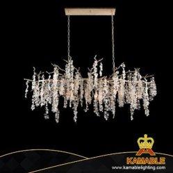 Restaurant contemporain Hotel Luxe pendentif décoratif lustre lampe en laiton