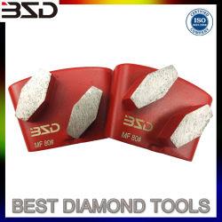6### 16 36 60# Aggrasivev Metal Segment abrasif Tampon à polir de broyage de diamants pour le Granite de la surface de plancher de béton d'une meuleuse