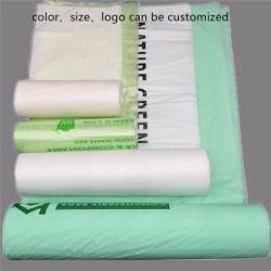100%の生物分解性およびCompostable Pbat PLAのコーンスターチのプラスチックごみ袋