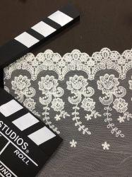 Hilados de estilo francés Net bordado de encaje de la mujer moda Accesorios de ropa de cama de la boda es probado materiales del hogar