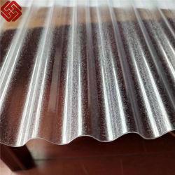 Feuilles de toit ondulé en polycarbonate PC vagues la toiture de serre