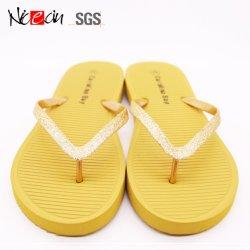 Venda por grosso de Design Personalizado pe as sandálias de solado Boot da Sapata Plain Flip-flop