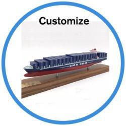 عادة [مرسك] [بلستيك رسن] وعاء صندوق نموذج سفينة زورق و [3د] [سكل مودل] وعاء صندوق